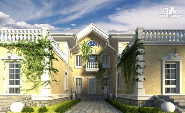 Фото 6: проект загородный особняк с террасами на втором этаже