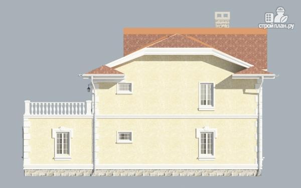 Фото 4: проект загородный особняк с террасами на втором этаже