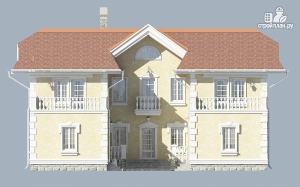 Фото 8: проект загородный особняк с террасами на втором этаже