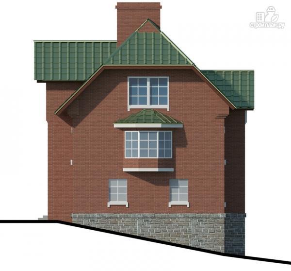 Фото 5: проект трехэтажный дом с сауной