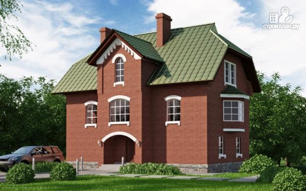 Фото: проект трехэтажный дом с сауной