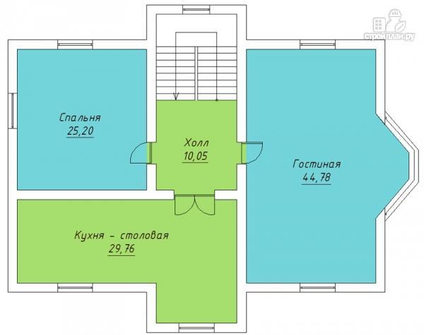 Фото 3: проект трехэтажный дом с сауной