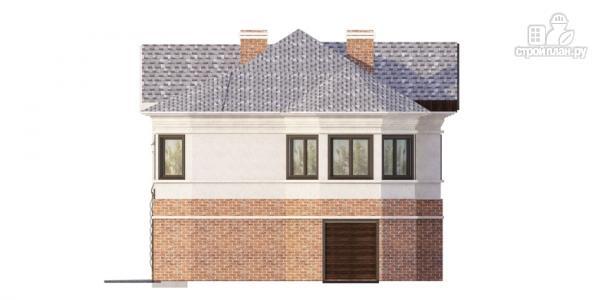 Фото 5: проект дом на две семьи с раздельными гаражами
