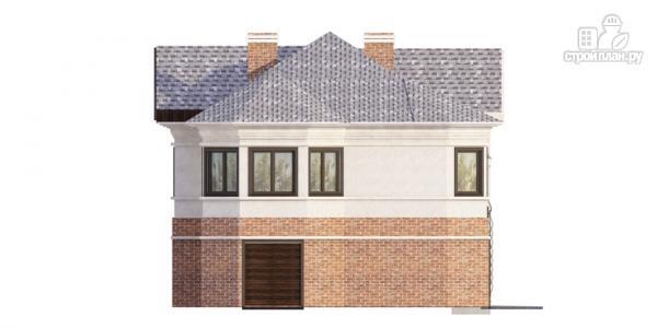 Фото 6: проект дом на две семьи с раздельными гаражами