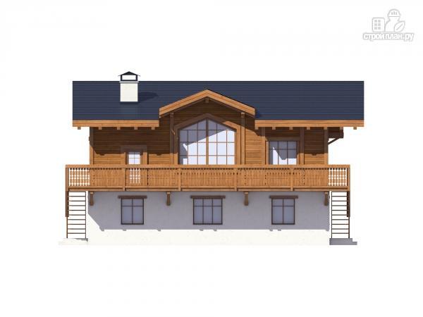 Фото 4: проект комбинированный дом из монолита и каркаса