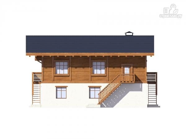 Фото 6: проект комбинированный дом из монолита и каркаса