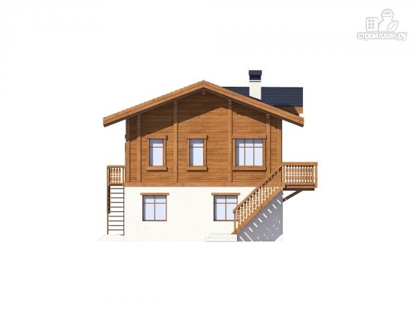 Фото 7: проект комбинированный дом из монолита и каркаса