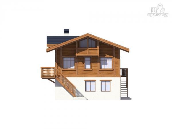 Фото 5: проект комбинированный дом из монолита и каркаса