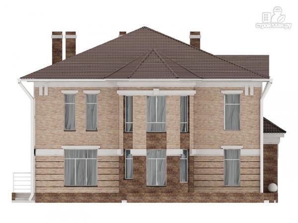 Фото 6: проект двухэтажный дом с сауной хамам, террасой и вторым светом