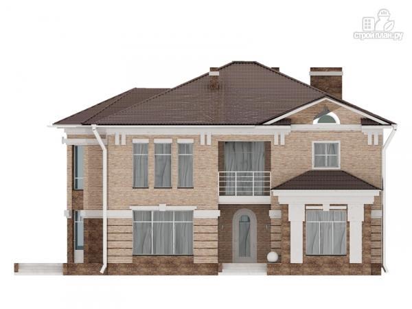 Фото 9: проект двухэтажный дом с сауной хамам, террасой и вторым светом