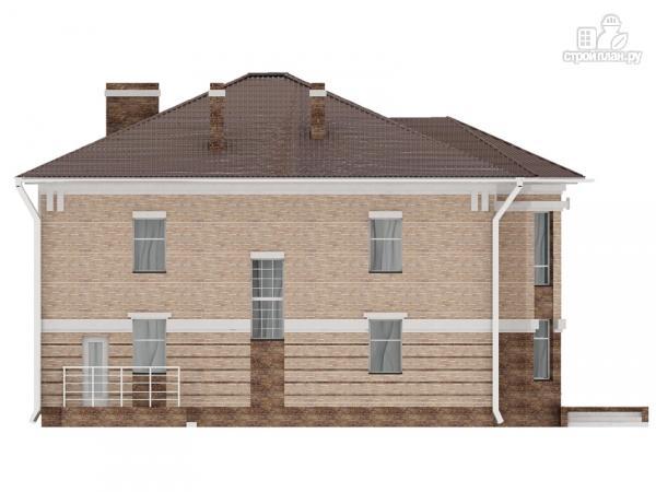 Фото 8: проект двухэтажный дом с сауной хамам, террасой и вторым светом