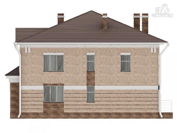 Фото 7: проект двухэтажный дом с сауной хамам, террасой и вторым светом