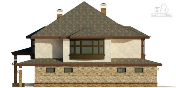 Фото 6: проект дом с гаражом, террасой и большой светлой гостиной