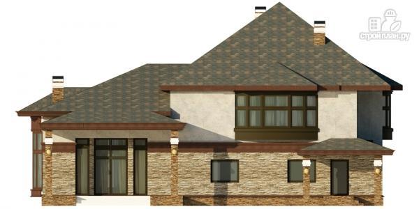 Фото 4: проект дом с гаражом, террасой и большой светлой гостиной