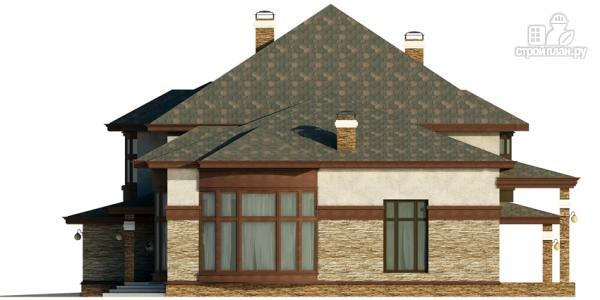 Фото 5: проект дом с гаражом, террасой и большой светлой гостиной