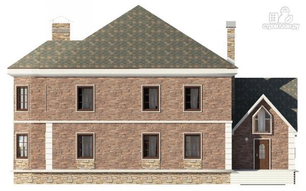 Фото 5: проект двухэтажный дом с зимним садом, сауной и гаражом