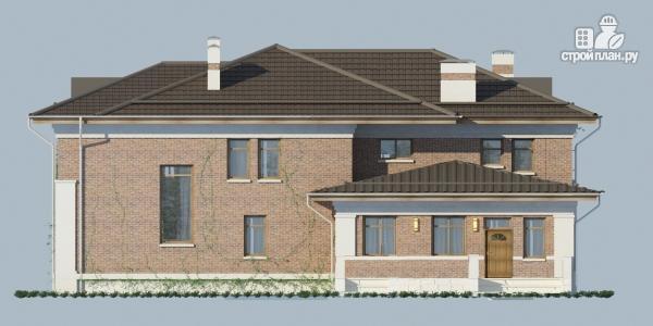Фото 5: проект двухэтажный дом из газобетона с террасой и зимним садом