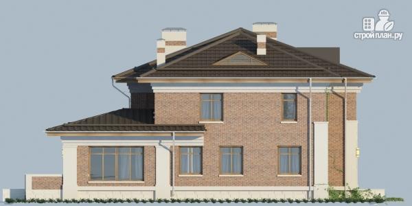 Фото 6: проект двухэтажный дом из газобетона с террасой и зимним садом