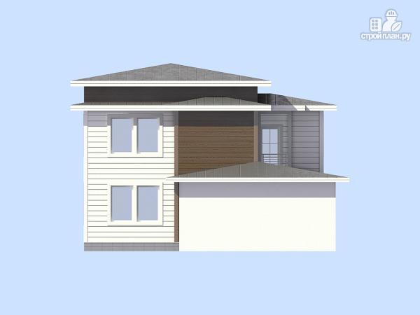 Фото 5: проект загородный дом с навесом для а/м