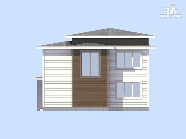 Фото 3: проект загородный дом с навесом для а/м