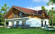 Проект загородный дом - ШАЛЕ