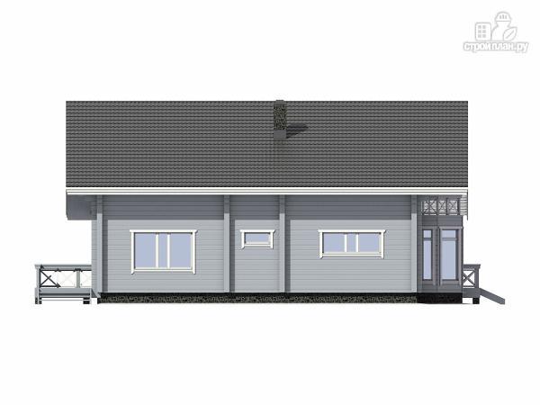 Фото 7: проект каркасный дом с имитацией бруса