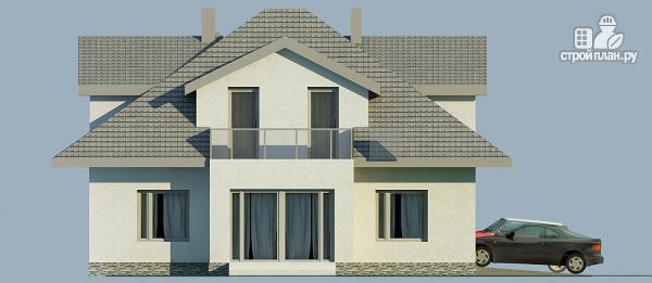 Фото 7: проект дом с камином