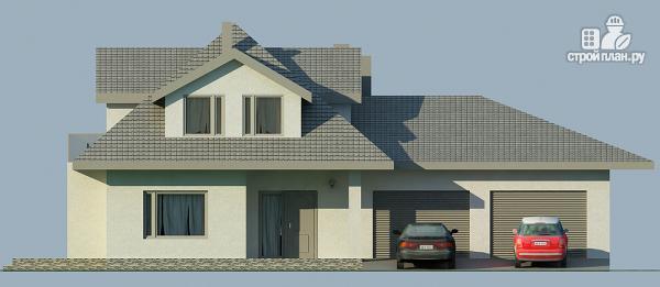Фото 4: проект дом с камином
