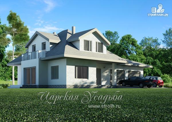 Фото: проект дом с камином