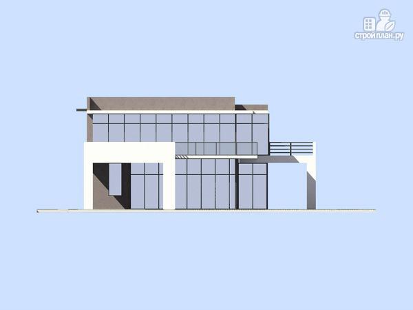 Фото 7: проект современный дом с плоской кровлей