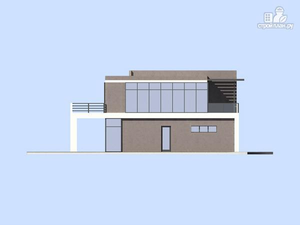 Фото 5: проект современный дом с плоской кровлей
