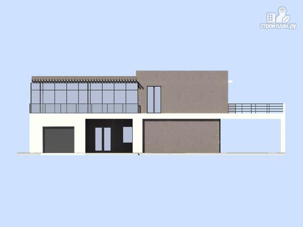 Фото 6: проект современный дом с плоской кровлей