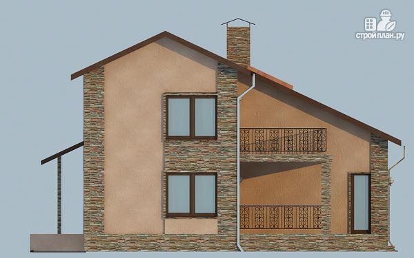 Фото 5: проект удобный дом с мансардой и вторым светом