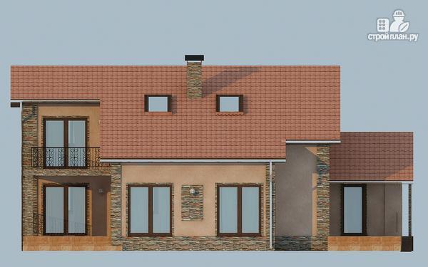 Фото 4: проект удобный дом с мансардой и вторым светом