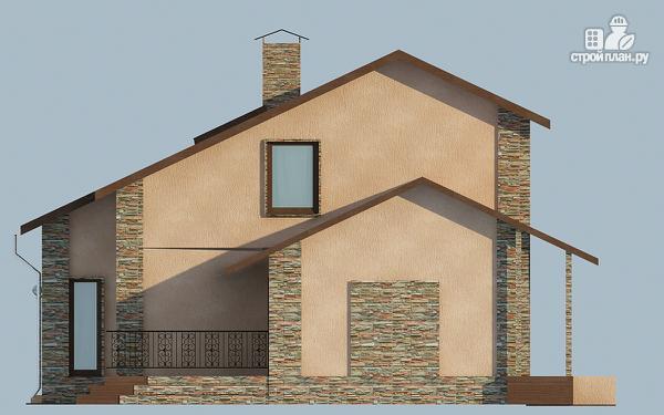 Фото 6: проект удобный дом с мансардой и вторым светом