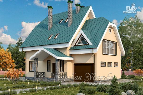 Фото: проект загородный дом с бильярдной комнатой