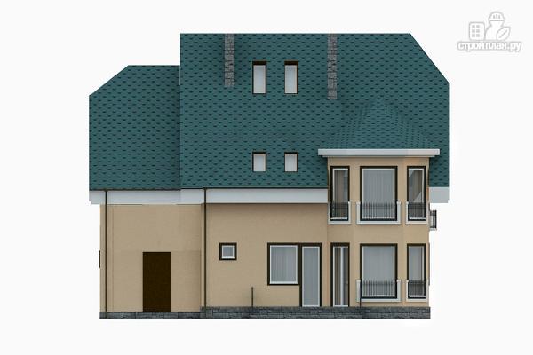 Фото 6: проект загородный дом с бильярдной комнатой
