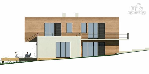 Фото 6: проект дом для небольшого склона