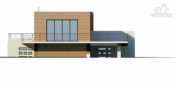 Фото 5: проект дом для небольшого склона