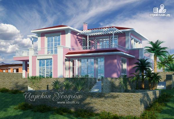 Фото: проект оригинальный проект дома для южных регионов