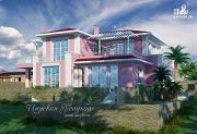 Фото: оригинальный проект дома для южных регионов