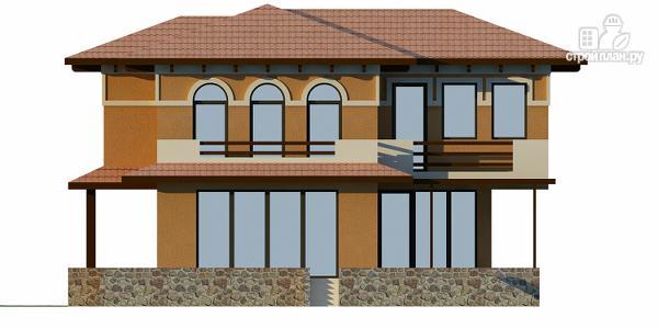 Фото 5: проект двухэтажный монолитный дом для Крыма