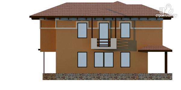 Фото 4: проект двухэтажный монолитный дом для Крыма