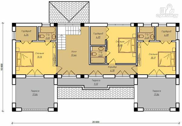 Фото 3: проект дом для ЮБК
