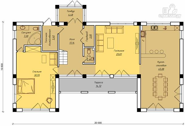 Фото 2: проект дом для ЮБК