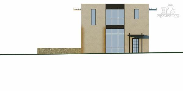 Фото 6: проект дом на склоне с двумя большими терассами