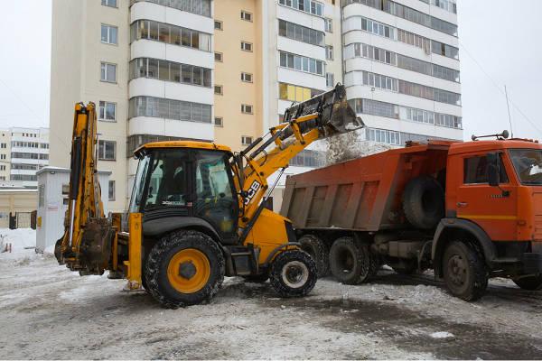 Фото Уборка/вывоз снега и мусора