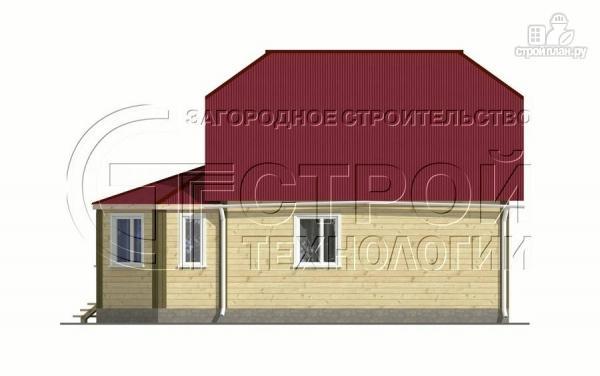 Фото 7: проект загородный дом 6х7 мс мансардой и брусовой верандой