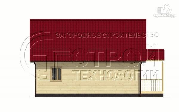 Фото 9: проект загородный дом 9х7 мс мансардой и террасой
