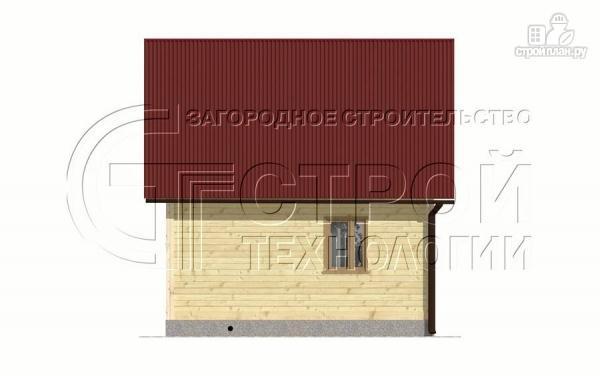 Фото 9: проект загородный дом 6х6 мс мансардой